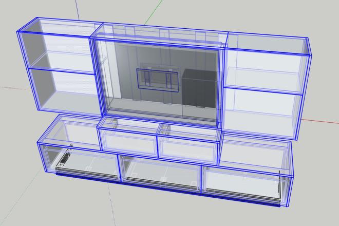 Design project for furniture 10 - kwork.com