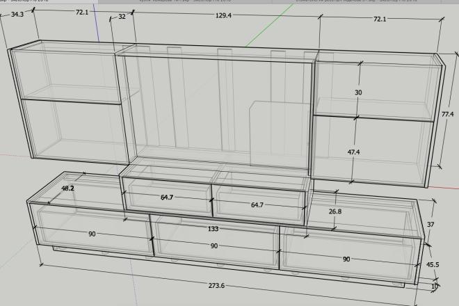 Design project for furniture 1 - kwork.com