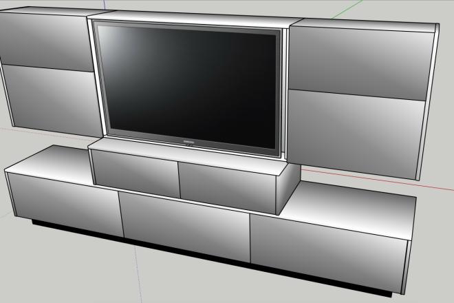 Design project for furniture 3 - kwork.com