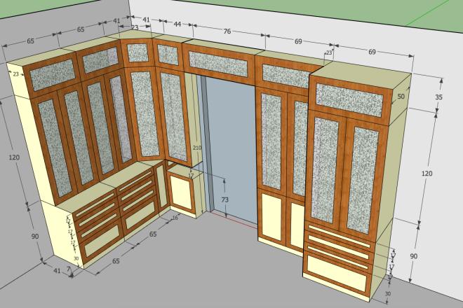 Design project for furniture 5 - kwork.com