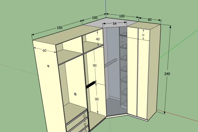 Design project for furniture 6 - kwork.com