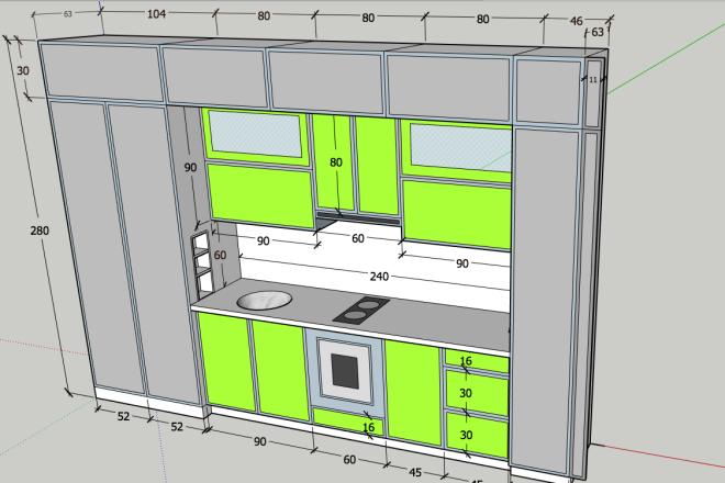 Design project for furniture 7 - kwork.com