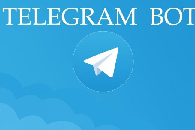 Telegram bot 1 - kwork.com