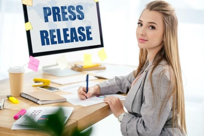 I Will Provide 1 Press Release Distribution on 32 sites 1 - kwork.com