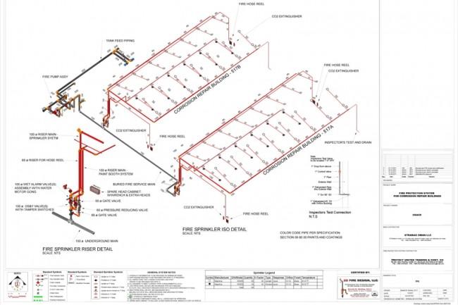 Automatic fire extinguishing design 1 - kwork.com