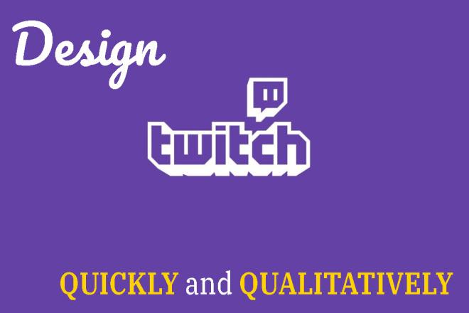Design for Twitch 6 - kwork.com