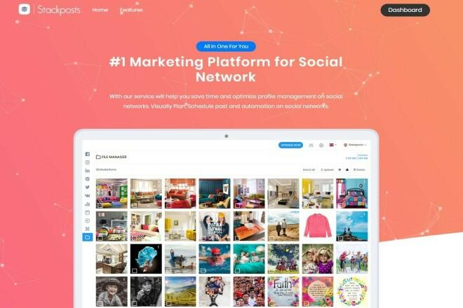 Sell Stackposts - Social Marketing Tool - last version 1 - kwork.com