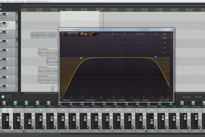 Mixing vocals to mastered instrumentals 1 - kwork.com