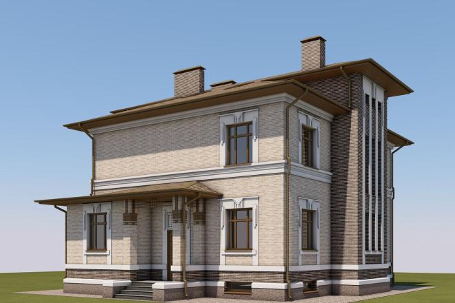 3D design in Archicad 6 - kwork.com