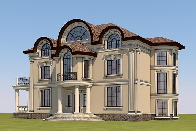 3D design in Archicad 7 - kwork.com