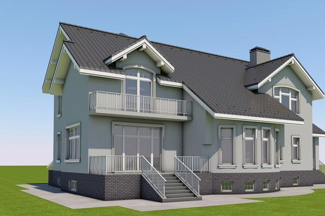 3D design in Archicad 8 - kwork.com