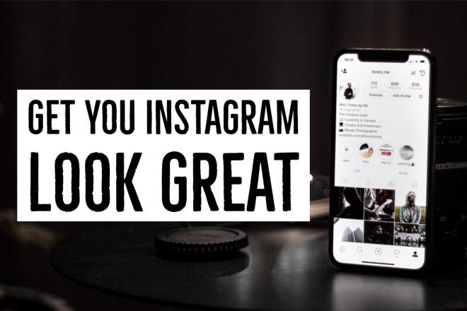 I'll Design Your Instagram Posts and Stories 1 - kwork.com