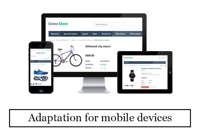 Website adaptation for mobile devices 7 - kwork.com