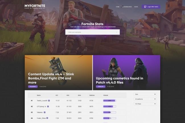 Modern website page design 4 - kwork.com