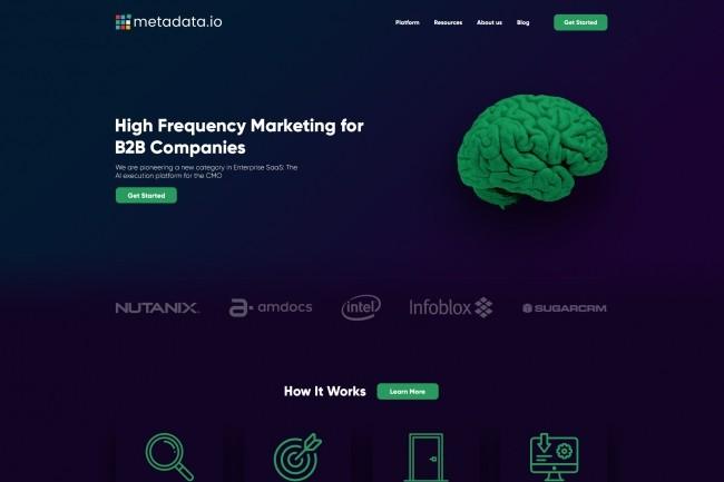 Modern website page design 3 - kwork.com