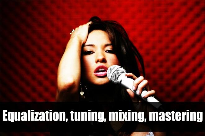 Vocal processing, tonal correction, equalization 1 - kwork.com