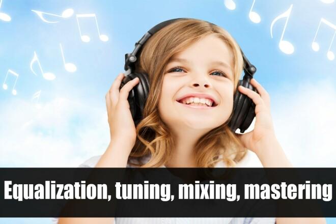 Vocal processing, tonal correction, equalization 2 - kwork.com
