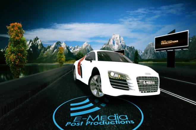 I will create a Car VFX logo Intro 1 - kwork.com