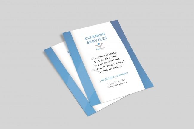 Flyer design 3 - kwork.com