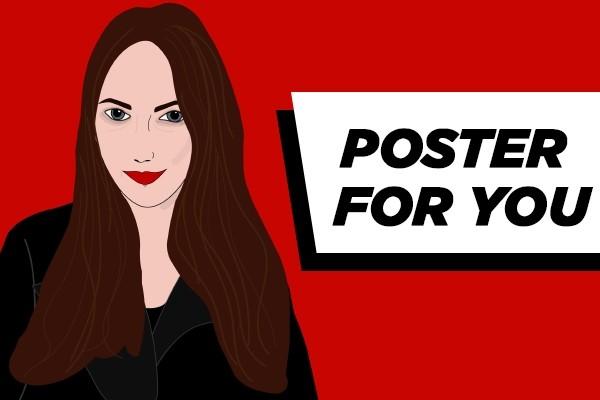 The poster design 2 - kwork.com