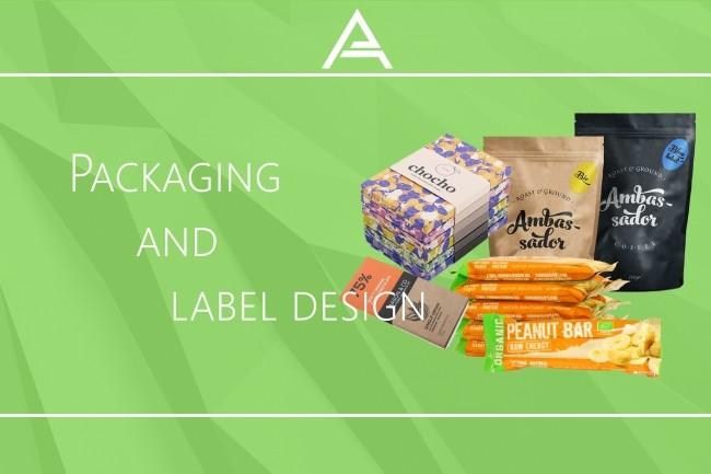 Packaging and label design 6 - kwork.com