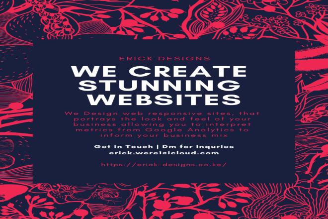 I will design a Web responsive site 1 - kwork.com