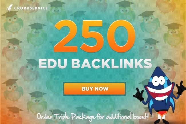 250 EDU High Quality SEO Backlinks 1 - kwork.com
