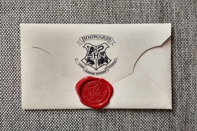 Letter from Hogwarts - Hand Made 1 - kwork.com