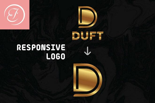 Responsive Logo Design + Presentation 1 - kwork.com