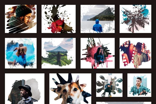 I will sell you 280 cool Instagram masks 4 - kwork.com