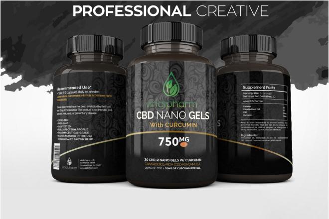 I will design amazing product label 1 - kwork.com