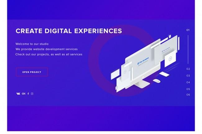 I will design Your Website UX and UI 5 - kwork.com