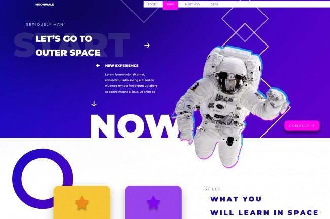 I will design Your Website UX and UI 2 - kwork.com