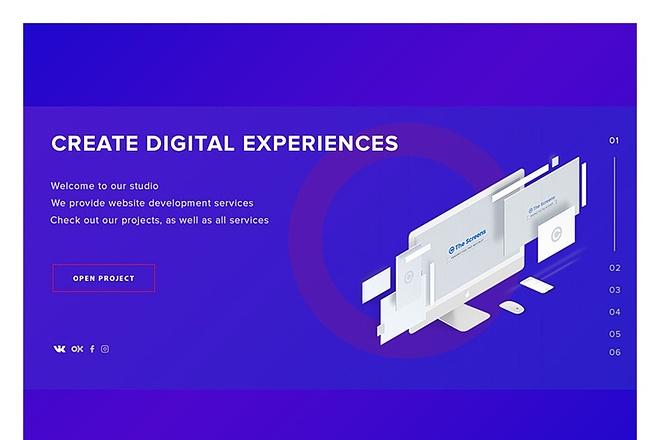 I will design Your Website UX and UI 3 - kwork.com