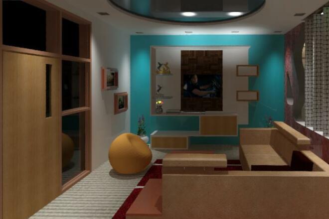 I will Draft, Design, Model, Render buildings 3 - kwork.com