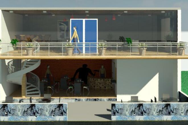 I will Draft, Design, Model, Render buildings 4 - kwork.com