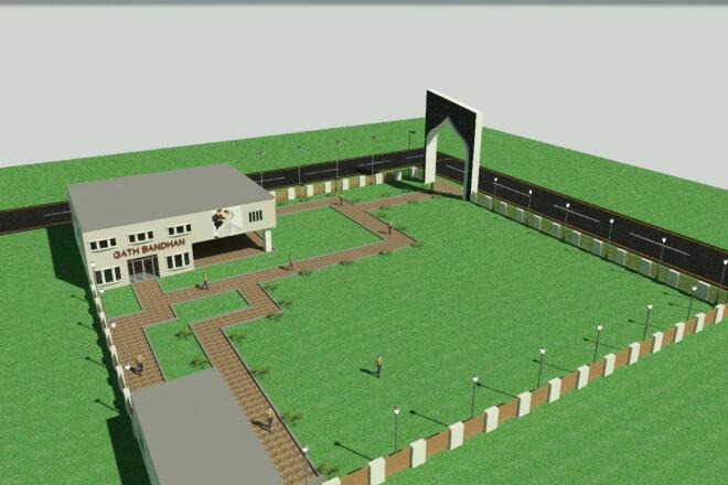 I will Draft, Design, Model, Render buildings 6 - kwork.com