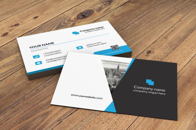I will design fantastic eye-catching business cards 1 - kwork.com