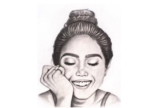 Draw a portrait 1 - kwork.com