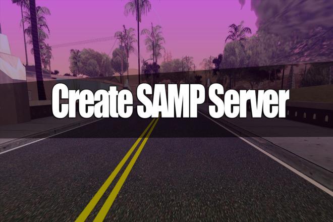 I will create a game server SAMP Role Play 1 - kwork.com