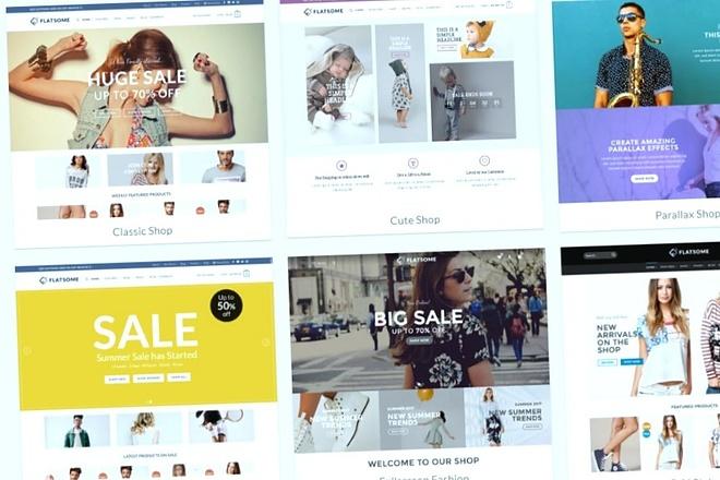 Top theme WordPress Flatsome 4 - kwork.com