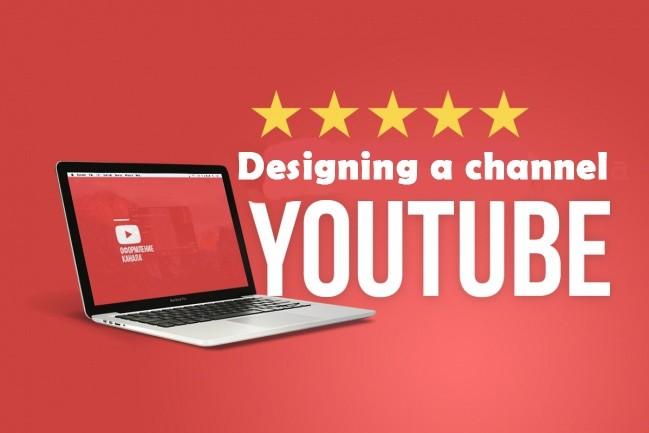 Create a quality channel design 7 - kwork.com