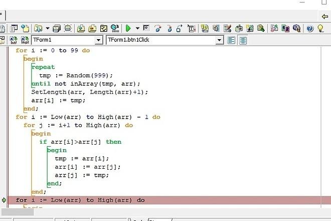 Helps to solve tasks on Delphi, Lazarus 1 - kwork.com