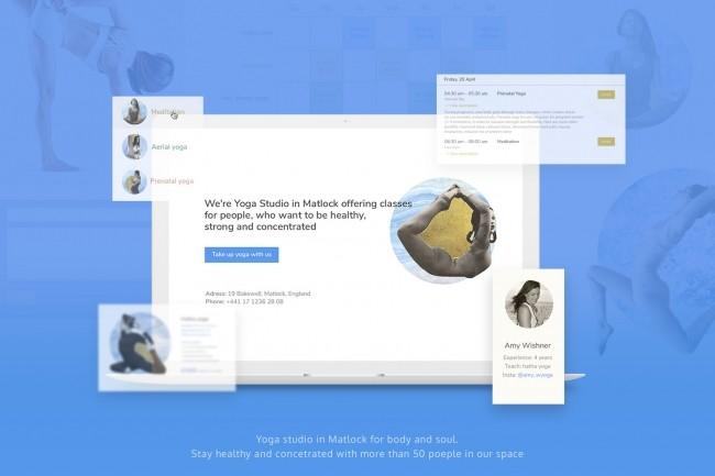 UI UX. Web-design, Landing page 5 - kwork.com