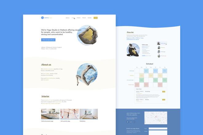 UI UX. Web-design, Landing page 3 - kwork.com
