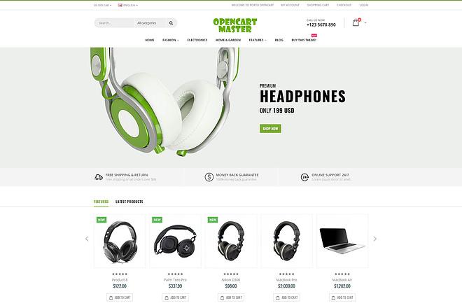 Opencart based site 5 - kwork.com