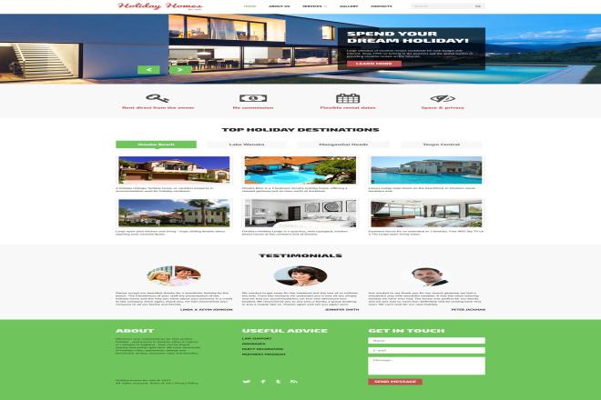 I Will Develop Modern Design Fully Responsive Website 4 - kwork.com
