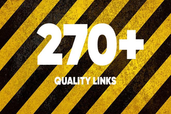 Add 270+ quality links 1 - kwork.com