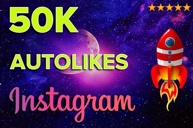 50K AutoLikes on Instagram posts 1 - kwork.com