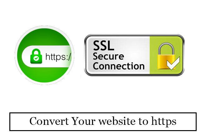 Install SSL. Convert Your website to https 1 - kwork.com